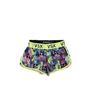 Victoria Secret Running Shorts The Player Neon